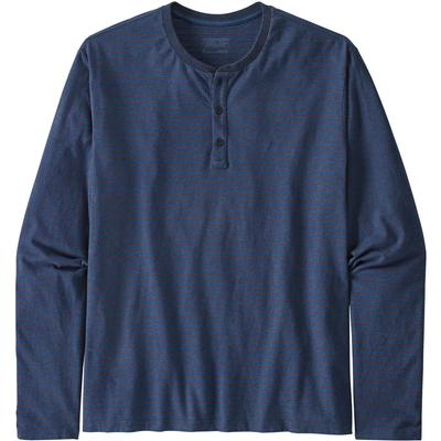 Patagonia Organic Cotton Lightweight Long Sleeve Henley Pullover Men's