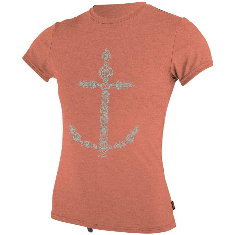 O ' Neill Hybrid Short Sleeve Sun Shirt Girls '