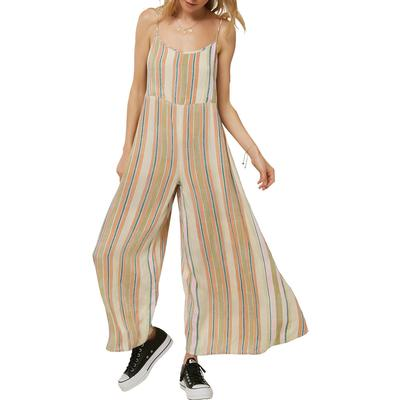Oneill Juls Stripe Jumpsuit Women's