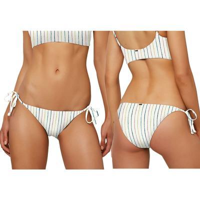 Oneill Bridget Stripe Side Tie Bikini Bottom Women's
