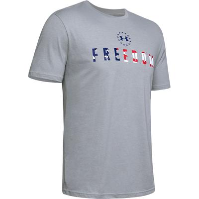 Under Armour Freedom Chest Crew T-Shirt Men's