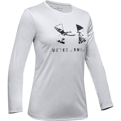 Under Armour Big Logo Tech Graphic Long Sleeve T-Shirt Girls'