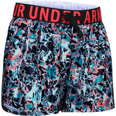 Under Armour Play Up Printed Shorts Girls'
