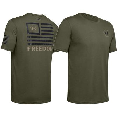 Under Armour Freedom Banner Short Sleeve T-Shirt Men's