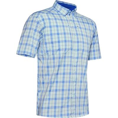 Under Armour Tide Chaser 2.0 Plaid Short Sleeve Button Down Shirt Men's