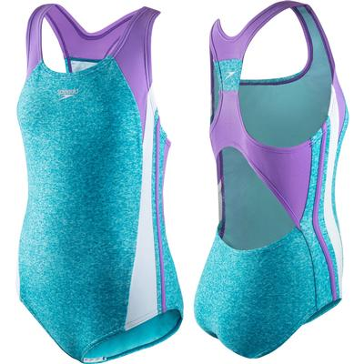 Speedo Infinity Splice One Piece Swim Suit Girls'
