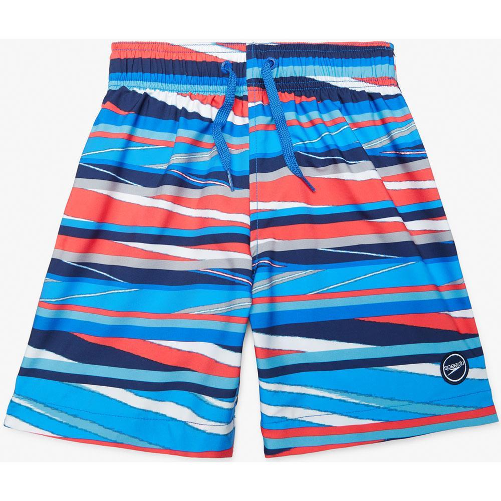 Speedo Palm Beach Redondo Print Volley 17in Board Shorts Boys '