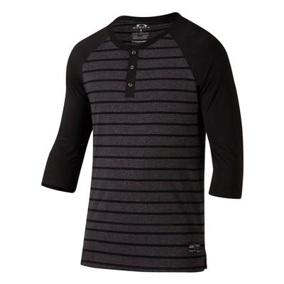 Oakley Saddle Henley Knit Top Mens