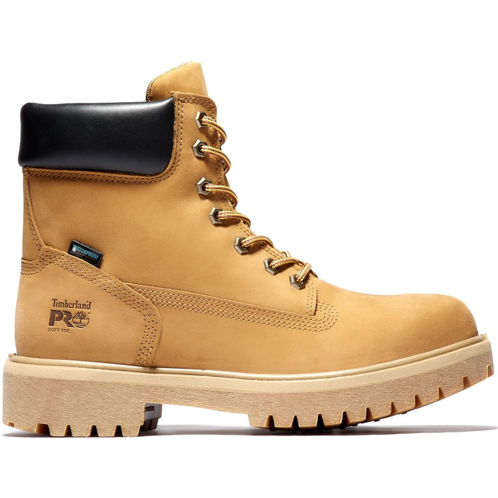 Timberland Pro 6 In Direct Attach Soft Toe Waterproof Insulated Work Boots Men's
