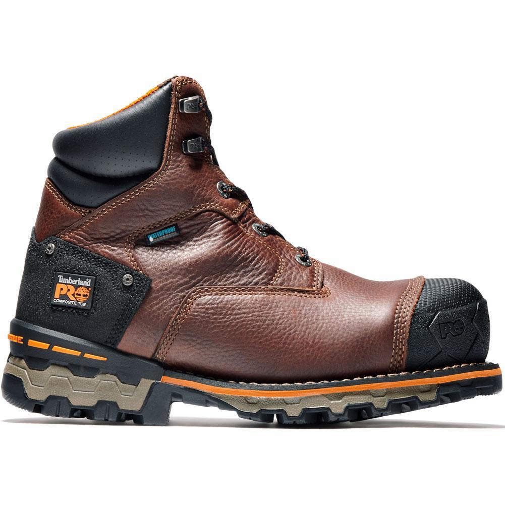 Timberland Pro 6 In Boondock Composite Toe Waterproof Insulated Work Boots Men's