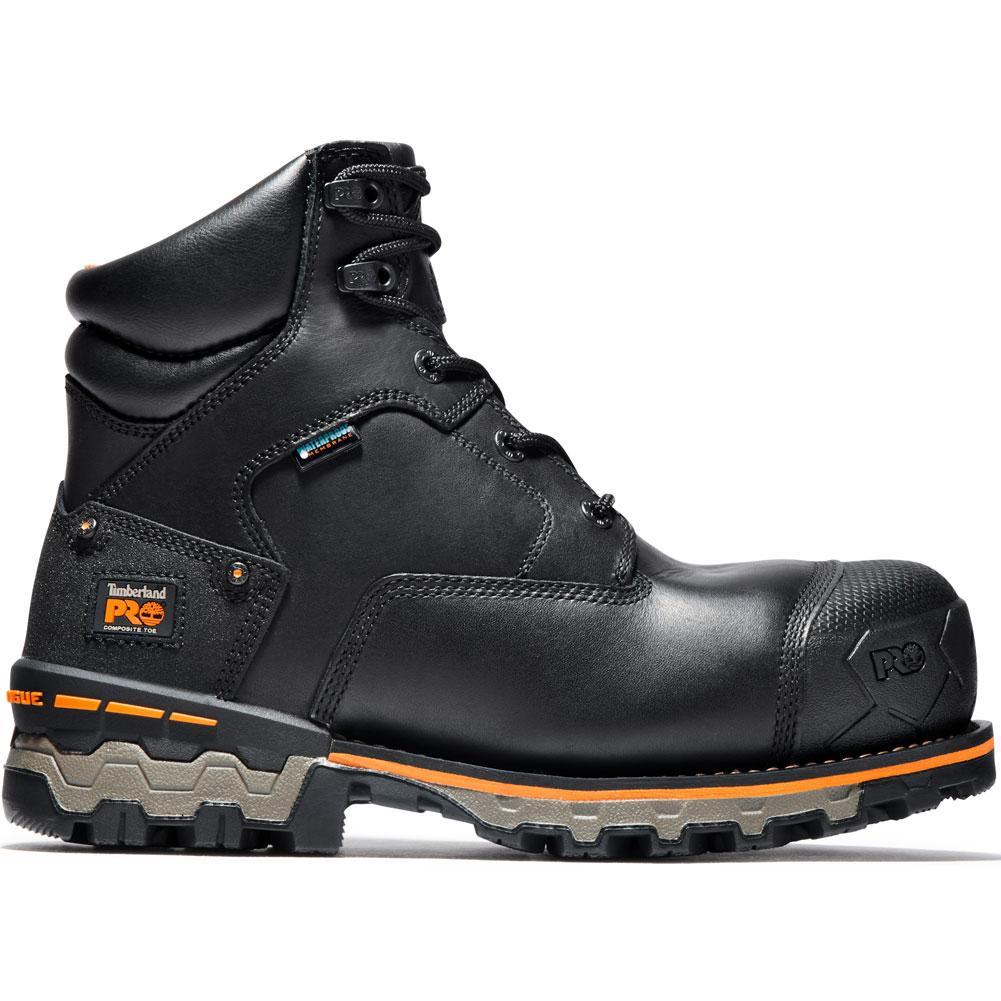 Timberland Pro 6 In Boondock Composite Toe Waterproof Work Boots Men's