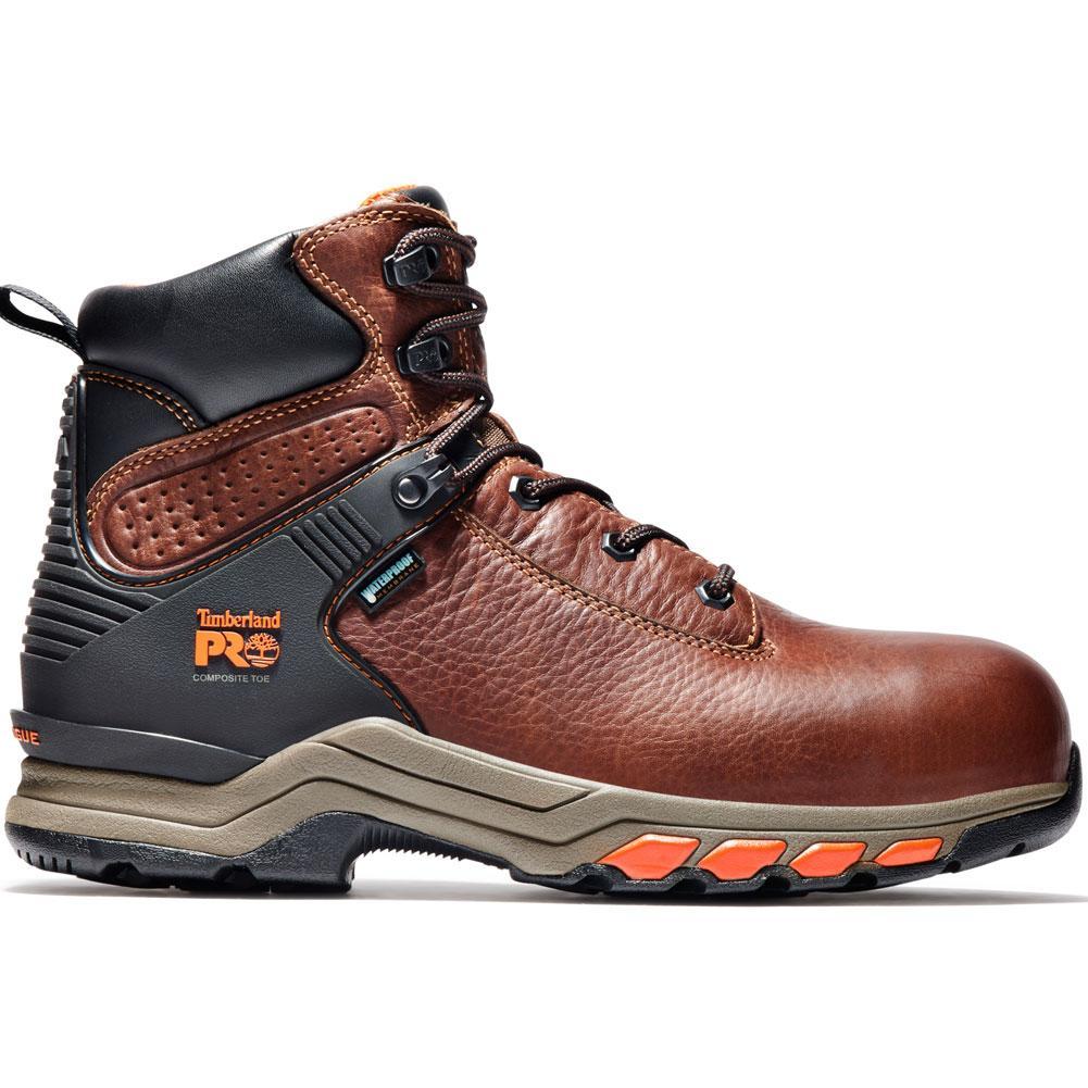 Timberland Pro 6 In Hypercharge Composite Toe Waterproof Work Boots Men's