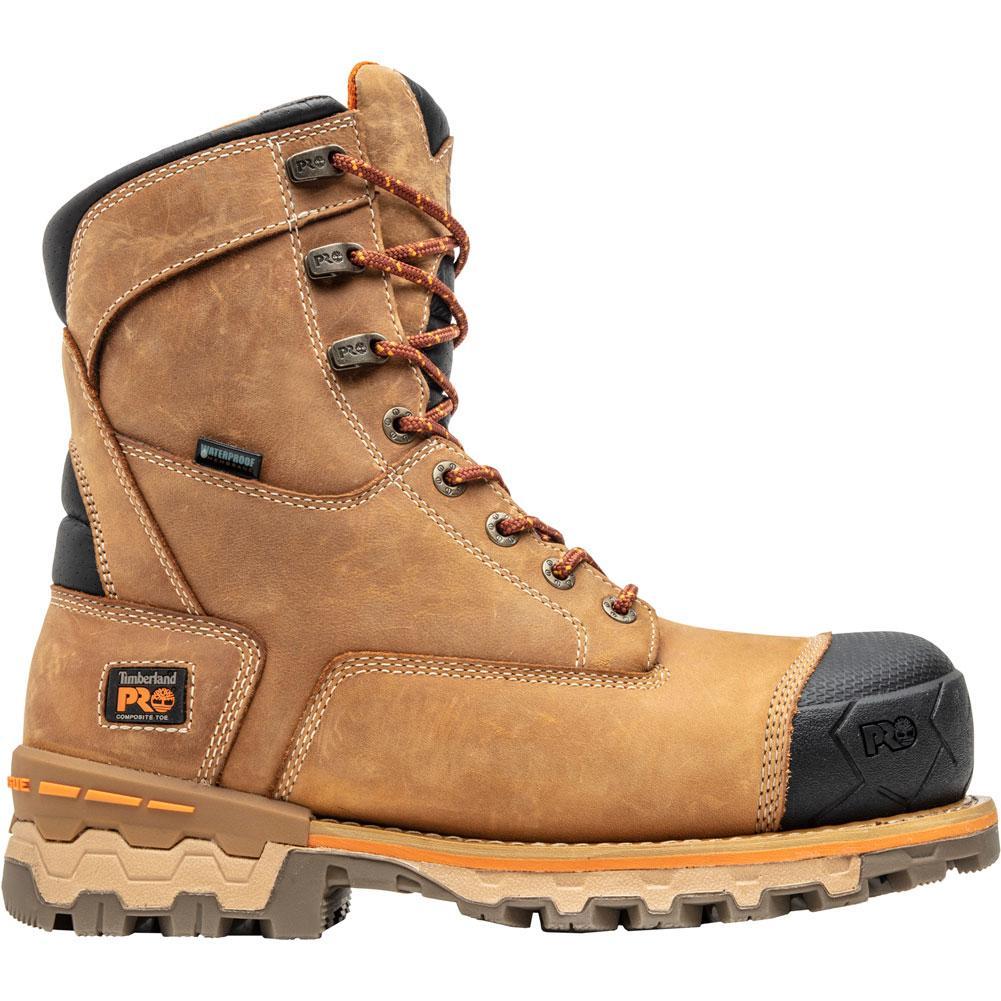 Timberland Pro 8 In Boondock Composite Toe Waterproof Insulated Work Boots Men's