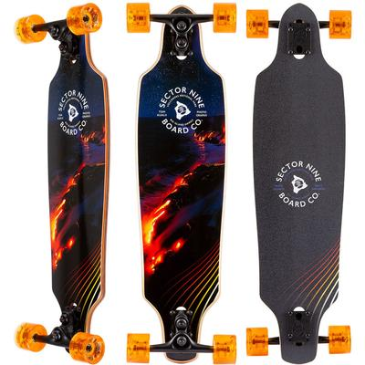 Sector 9 Lava Roundhouse Complete Longboard 34.0 Inch