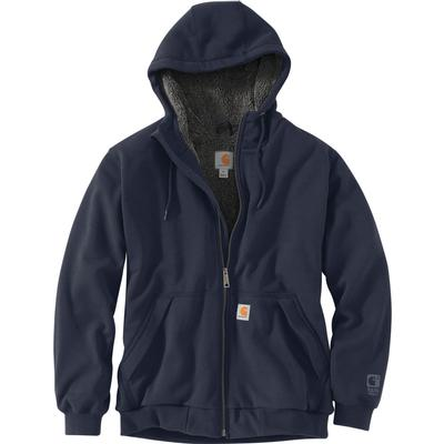 Carhartt Rain Defender Rockland Sherpa Lined Hooded Sweatshirt Men's