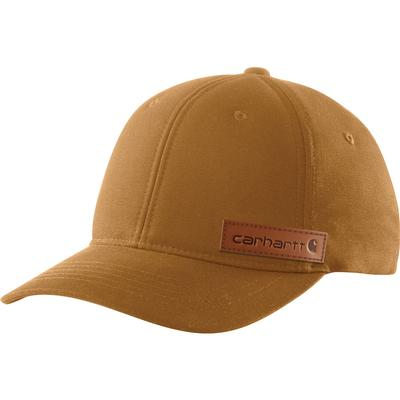 Carhartt Rugged Flex Canvas Full-Back Fitted Logo Graphic Cap Men's