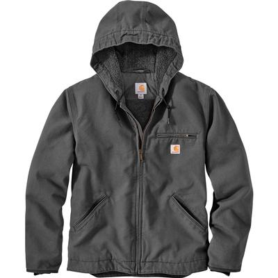 Carhartt Relaxed Fit Washed Duck Sherpa-Lined Jacket Men's