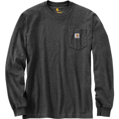 Carhartt Relaxed Fit Heavyweight Long-Sleeve Built Graphic Pocket T-Shirt Men's