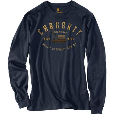 Carhartt Relaxed Fit Midweight Long-Sleeve Legendary Graphic T-Shirt Men's