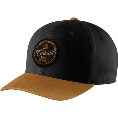 Carhartt Rugged Flex Fitted Canvas Built to Last Cap Men's