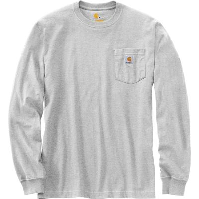 Carhartt Relaxed Fit Heavyweight Long-Sleeve Hardhat Graphic T-Shirt Men's