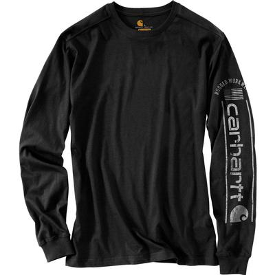 Carhartt Relaxed Fit Midweight Long-Sleeve Logo Graphic T-Shirt Men's