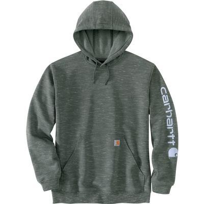 Carhartt Loose Fit Heavyweight Long-Sleeve Logo Sleeve Graphic T-Shirt Men's