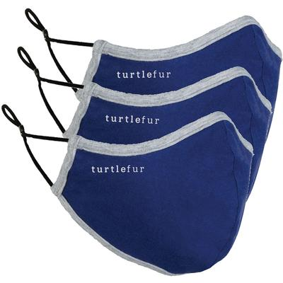 Turtle Fur Everyday Face Mask 3-Pack - Solids