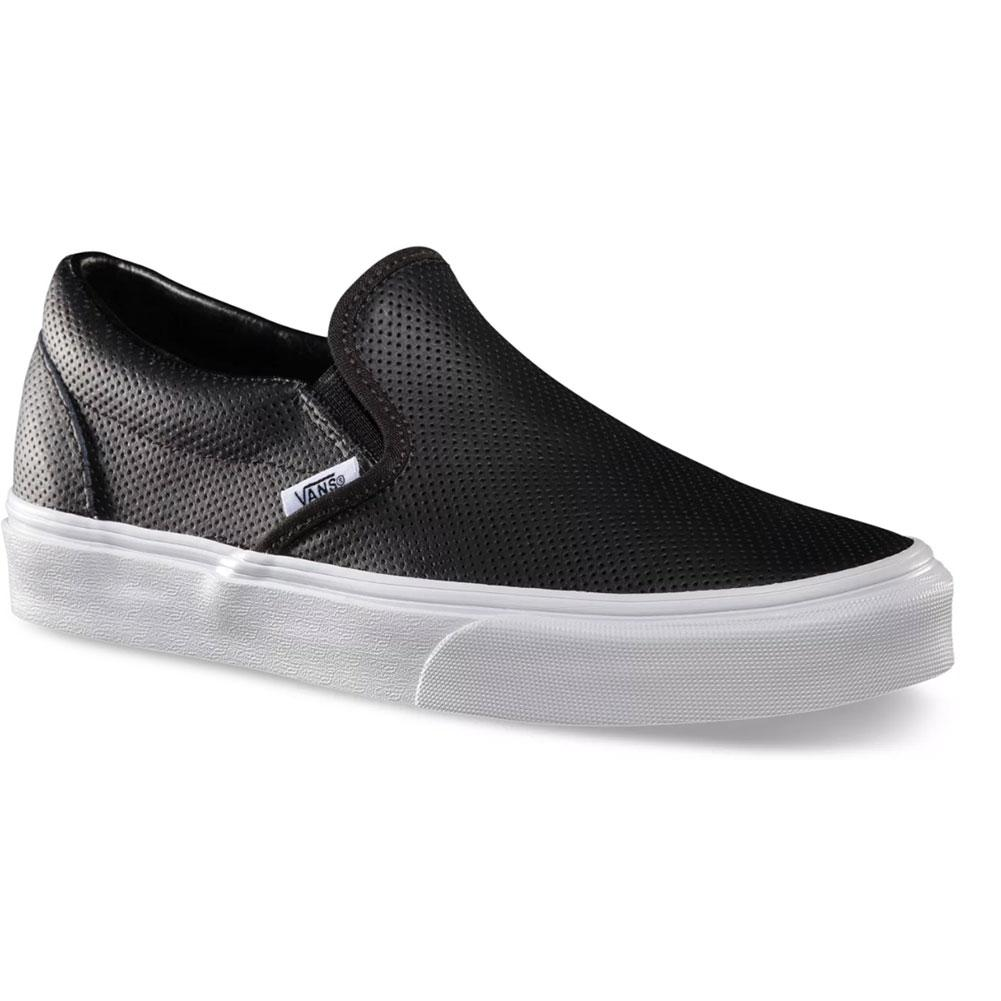Vans Classic Slip- On Perf Leather Shoes
