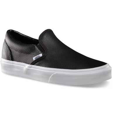 Vans Classic Slip-On Perf Leather Shoes