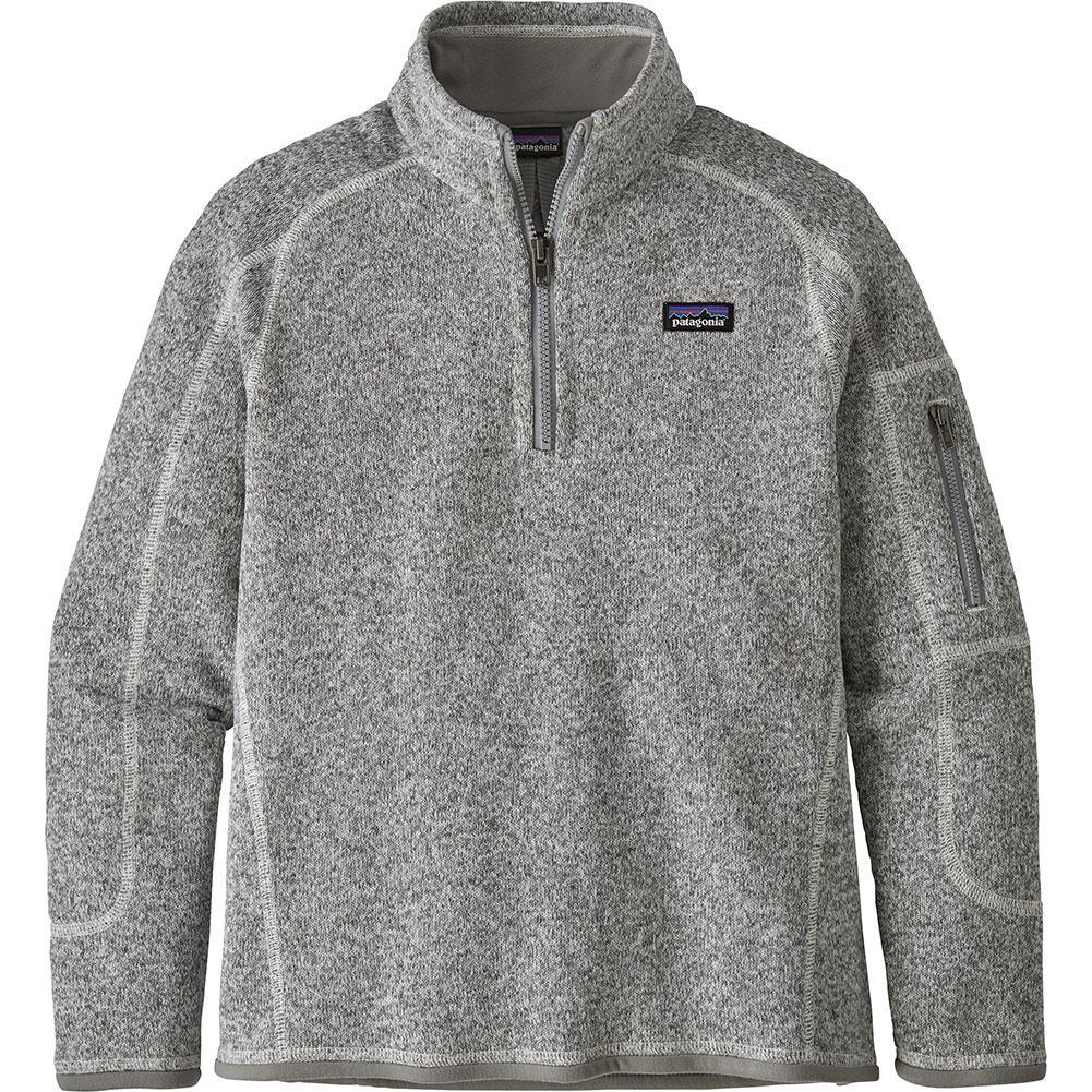 Patagonia Better Sweater 1/4 Zip Fleece Top Girls '