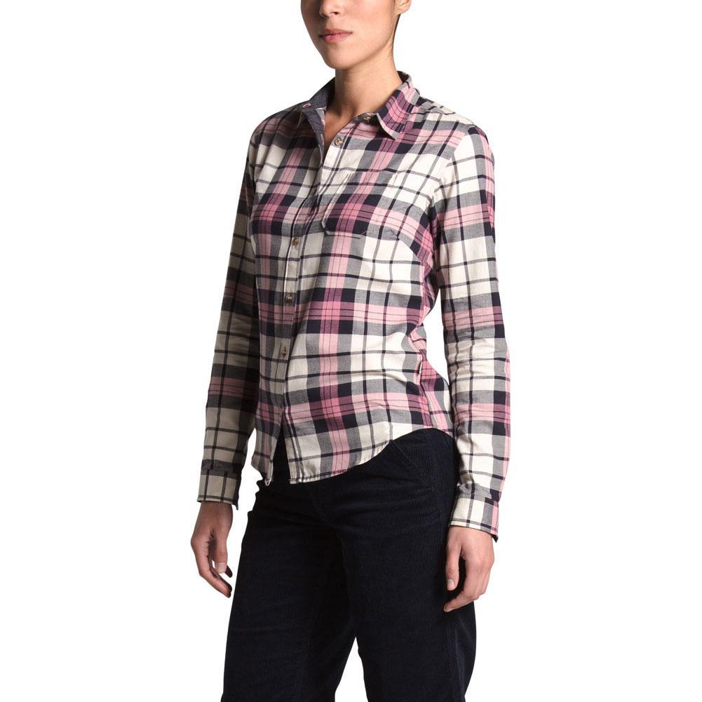 The North Face Berkeley Girlfriend Long Sleeve Shirt Women's