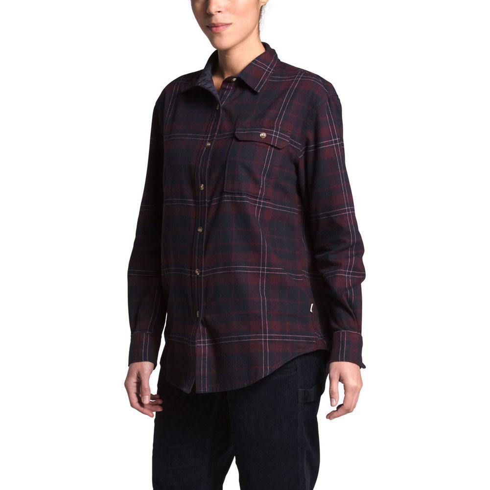 The North Face Berkeley Boyfriend Long Sleeve Shirt Women's