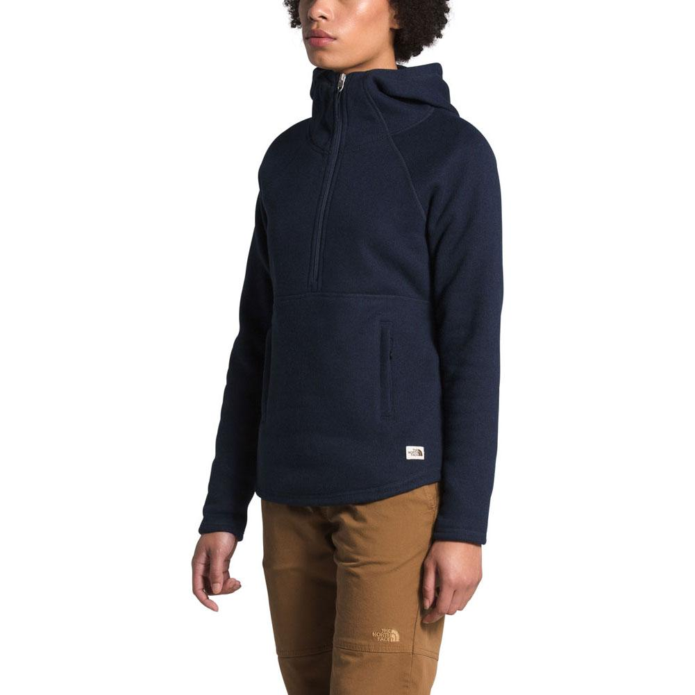 The North Face Crescent Hooded Pullover Fleece Top Women's