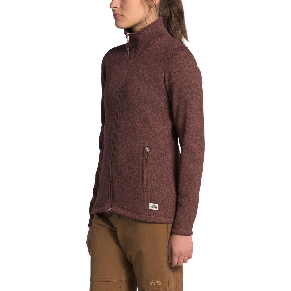 The North Face Crescent Full- Zip Fleece Top Women's