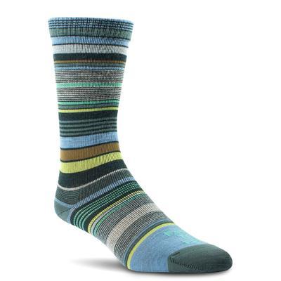 Farm To Feet Ithaca Ultralight Multi-Stripe Crew Socks Women's