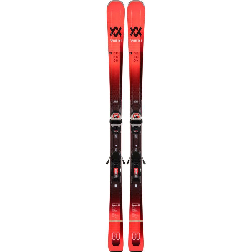 Volkl Deacon 80 Skis With Lowride Xl 13 Fr Demo Gw Bindings 20/21 Mens