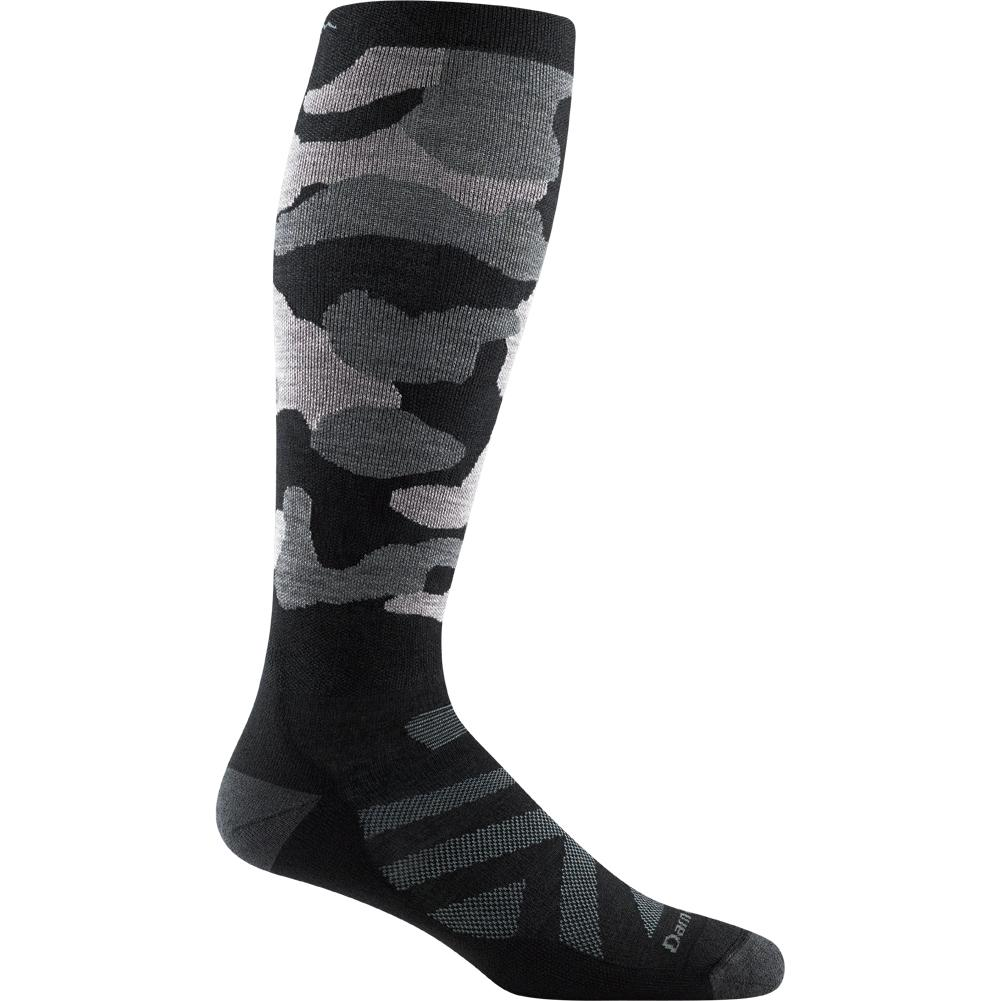 Darn Tough Vermont Camo Over- The- Calf Midweight Cushion Socks With Graduated Light Compression Men's