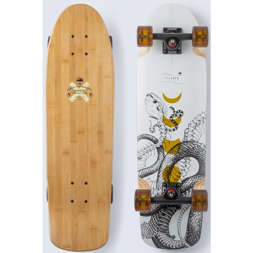 Arbor Pilsner Bamboo 29 Inch Complete Longboard