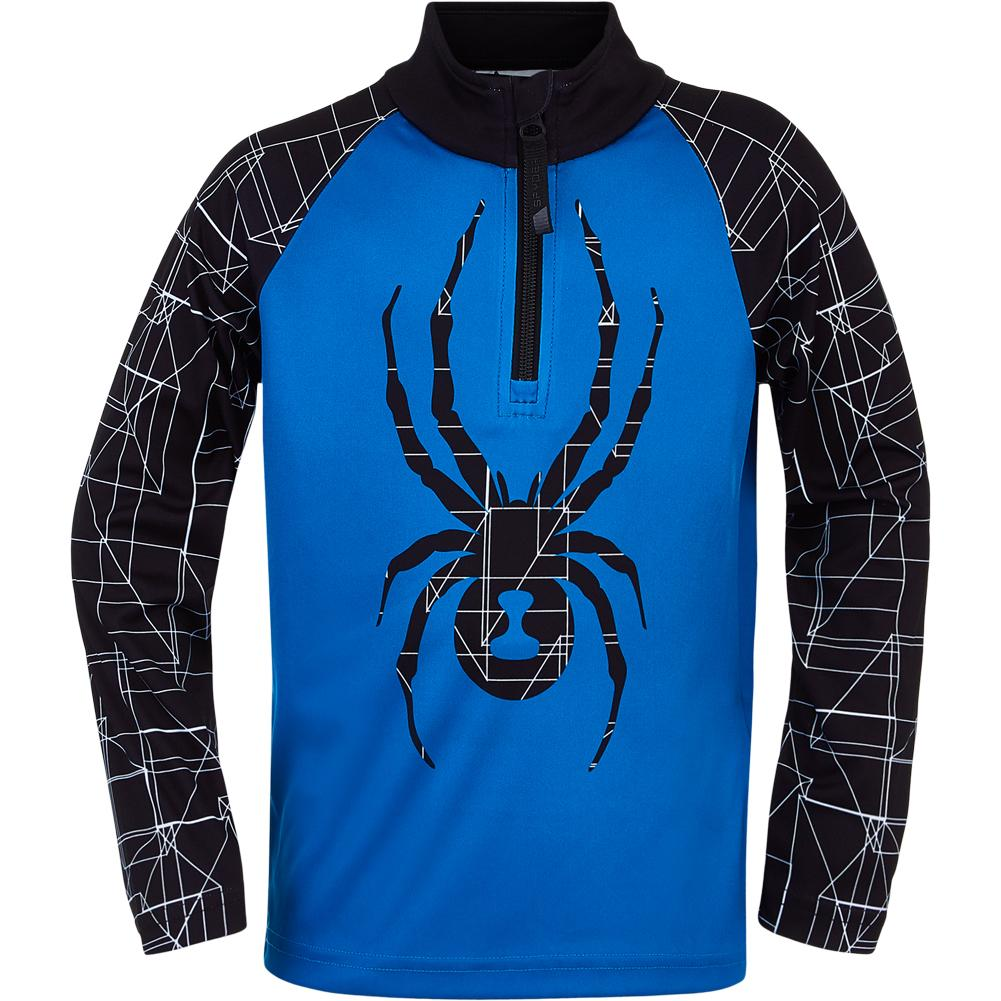 Spyder Mini Maze Zip T- Neck Top Boys '