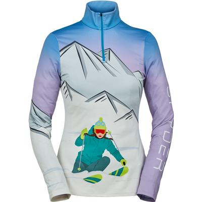 Spyder Shred Zip T-Neck Top Women's