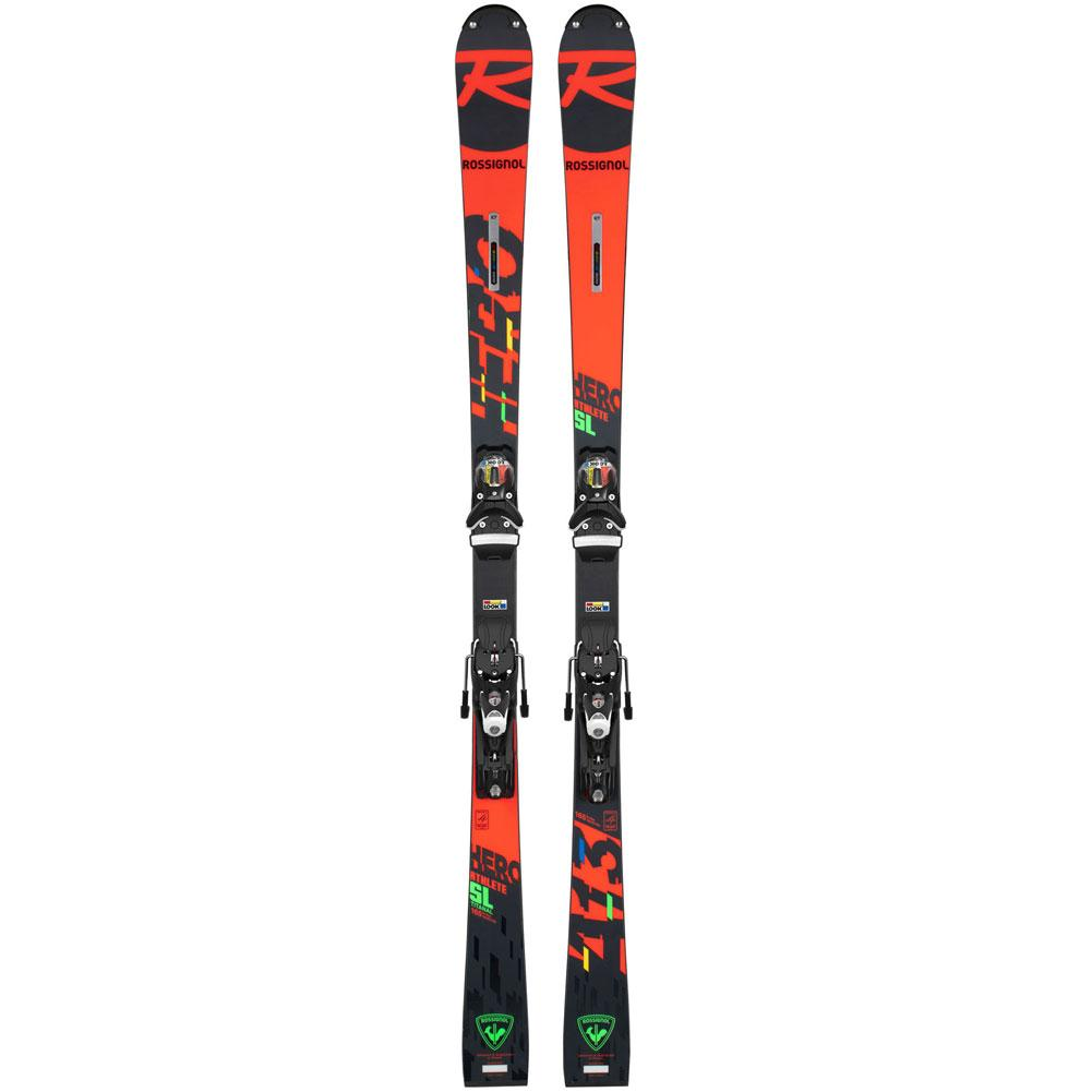 Rossignol Hero Athlete Sl Pro Skis With R21 Pro Race Plate Kids '