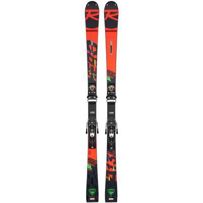 Rossignol Hero Athlete SL Pro Racing Skis With R21 Race Plate Kids' 21/22