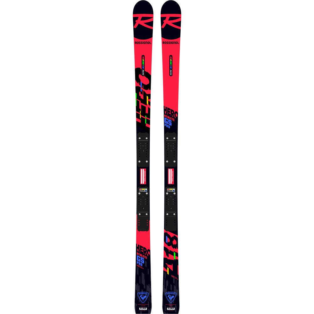 Rossignol Hero Athlete Gs Pro Skis With R21 Pro Race Plate Kids '