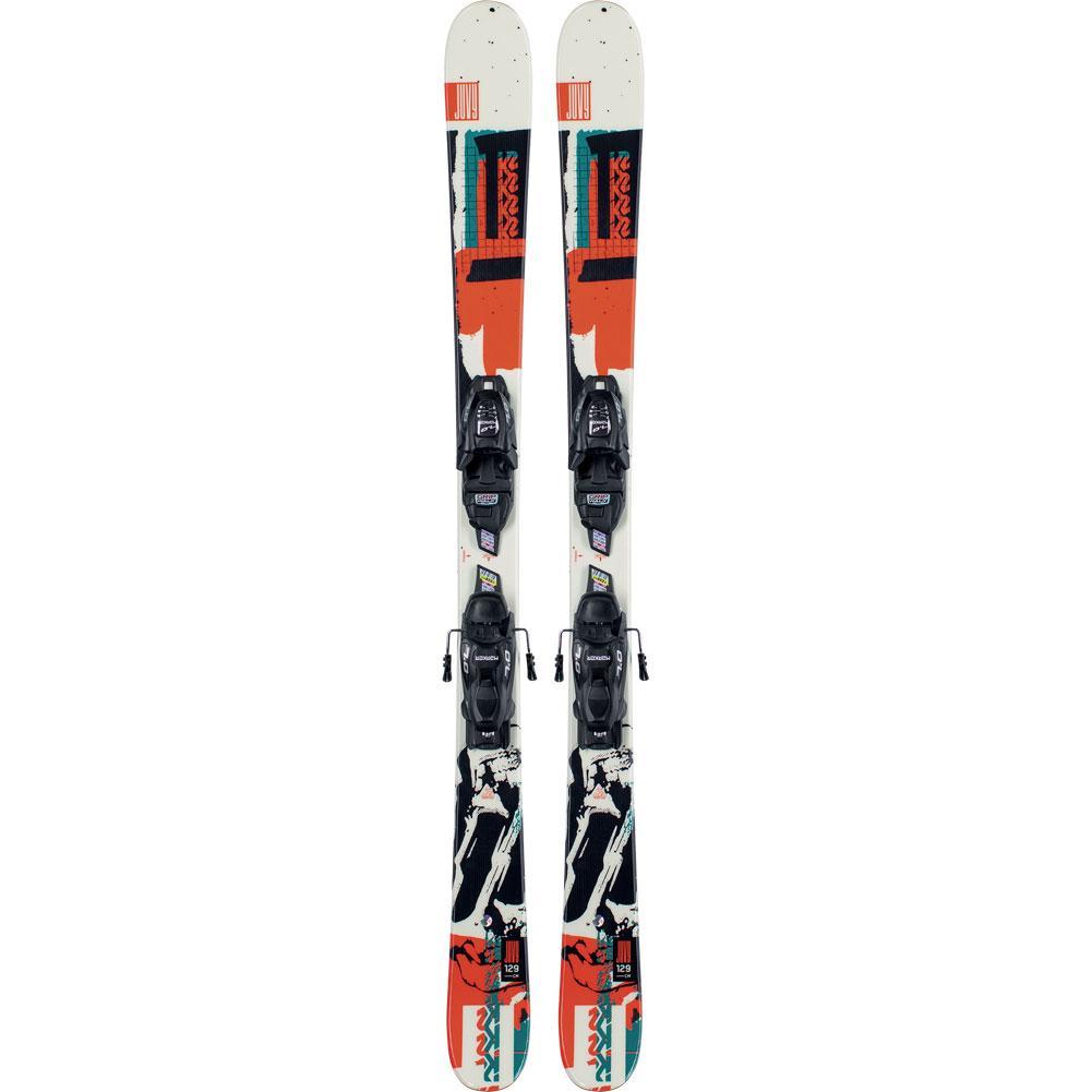 K2 Juvy Skis With Fdt 7.0 Ski Bindings Kids ' 2021