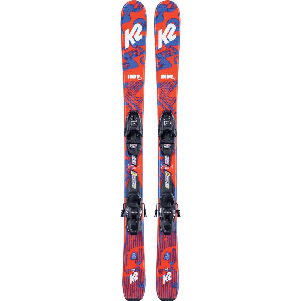 K2 Indy Skis With Fdt 7.0 Ski Bindings Kids ' 2021