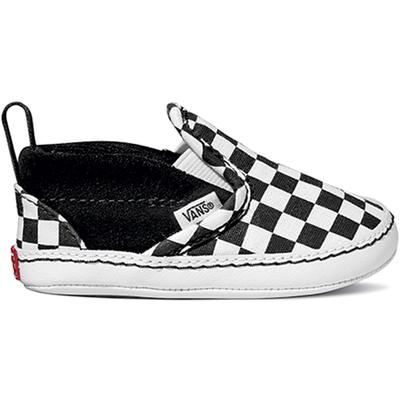 Vans Checker Slip-On V Crib Shoes Infant`s