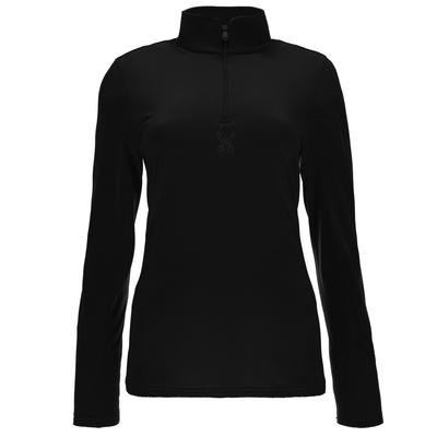 SPYDER W SHIMMER BUG VELOUR FLEECE T-NEC