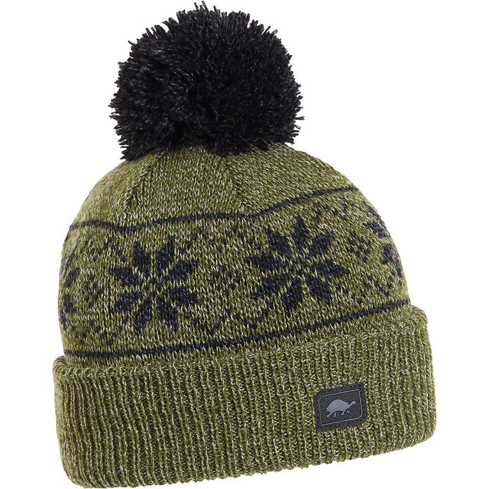 Turtle Fur Mount Snow Ragg Wool Pom Beanie Boys '