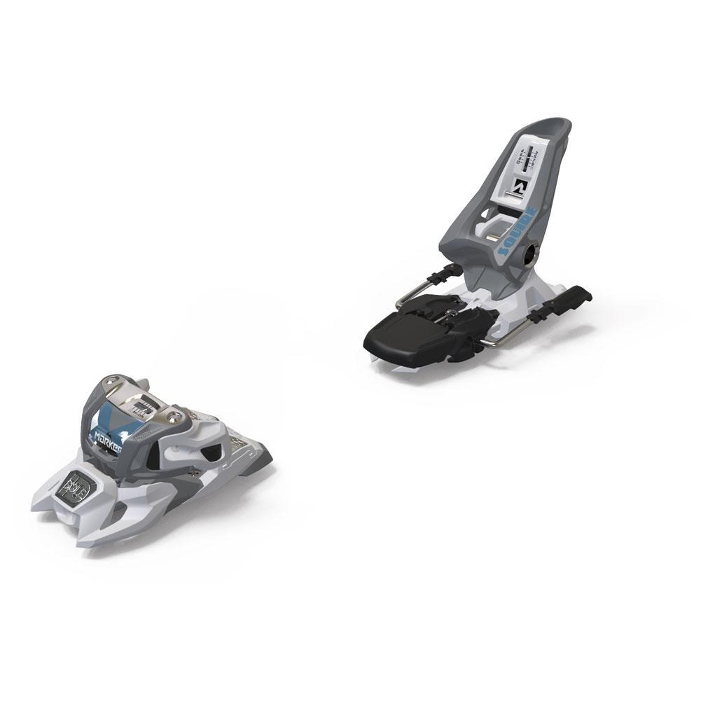Marker Squire 11 Id Ski Bindings - Gray/White